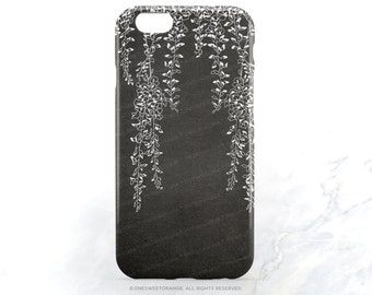 iPhone 6S Case iPhone 5C Case Floral Gray iPhone 5s Case Floral White Floral iPhone 6 Plus Case iPhone 6S Plus Case iPhone 5s Case I171
