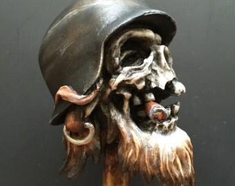 Frontschwein Shifterknob (Black helmet)