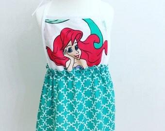 Ariel bib front dress