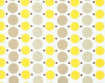 Big Dot in Sunflower - Katie Jump Rope collection - FreeSpirit Fabric - Fat Quarter, Half Yard or More