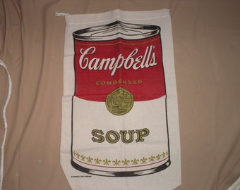 Campbell Soup laundry bag