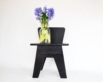 Mid Century Modern Child's Chair | Vintage Modern Style Chair | Nursery Decor | Modern Folk Art