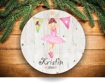 Christmas Ornaments, Gift for Niece, Baby Neice Gift, Aunt Neice, Ballerina Christmas Ornaments, Baby's First C116