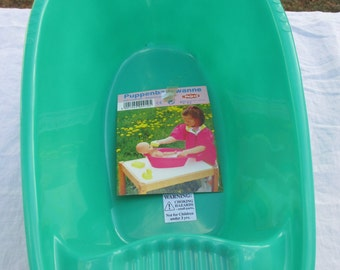 Doll Bathtub made in Germany by Heless for Doll Play Time or Washing Doll Clothing