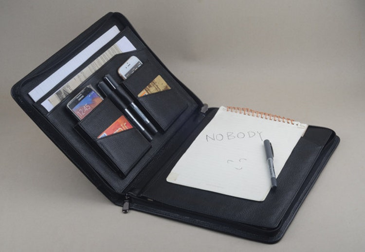 Ipad Pro Leather Portfolio Case With A4 Size By Leathercase
