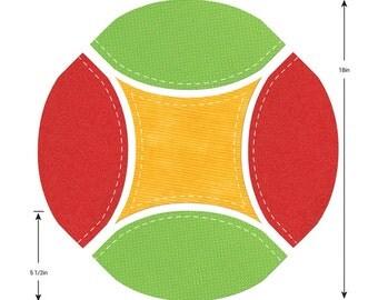 Sizzix - Bigz Pro Die - Fabi Edition - Double Wedding Ring Large Melon