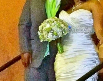 Custom Brooch Bouquet Made To Order Wedding Bouquet
