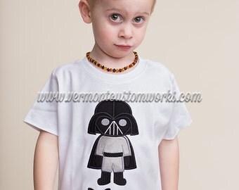 Star Wars Birthday Shirt, Star Wars Shirt, Darth Vader Shirt, Birthday Shirt, Personalized Birthday Shirt, Star Wars, Darth Vader, Boys