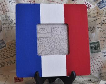 French flag frame