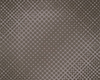 Dots Dark Grey - Code Keepers Collection - Clothworks Y1519-7  Dark Gray (sold by the 1/2 yard)