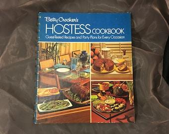 Betty Crocker's Hostess Cookbook Spiral Bound 6th Printing 1973
