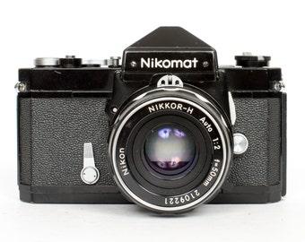 Nikomat FT with 50mm f2 AI Lens