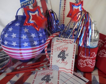 Bunco 4th of July Party
