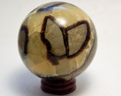Septarian Dragon Crystal Sphere 510 grams 2 3/4 big size Fast Shipping!