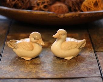 Set of 2 Vintage Homco Ducks Figurines