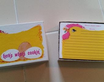 FREE U.S SHIPPING--Vintage Chicken Recipe Cards