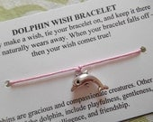 Dolphin - Wish Bracelet - Choose your Color