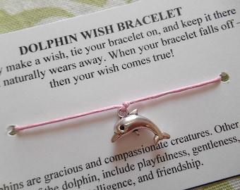 Dolphin - Wish Bracelet - Choose your Color