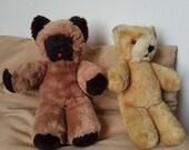 Vintage German Mohair Teddy Bears from 1960 s