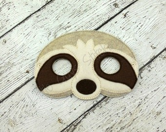 Sloth Children's Mask, Dress Up, Theater, Pretend Play, Face mask, Imaginitive Play