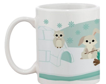 Woodland Antarctic Mug