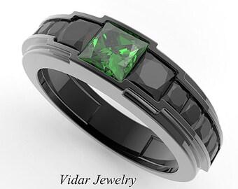 Emerald Rings For Men Men emerald rin...