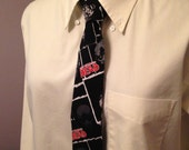 Walking Dead Zombie Print Neck Tie