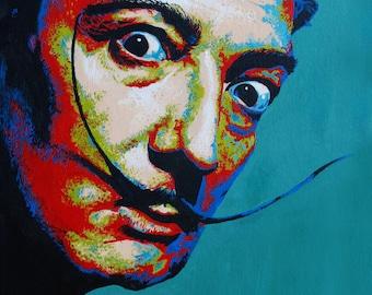 "Salvador Dalí - 18x24"" Archival Print"