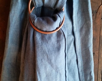15 Percent discount - 100% Linen Ring Sling
