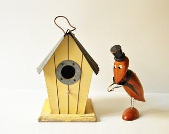 Vintage Wooden Birdhouse