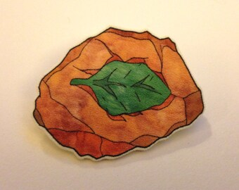 Pokémon Leaf Stone Brooch