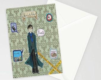 BBC Sherlock card (A6)