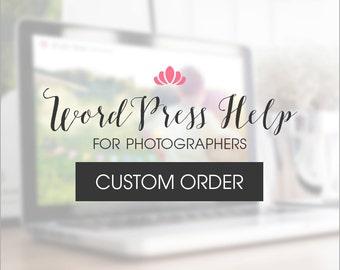 WordPress Help - Kristen R