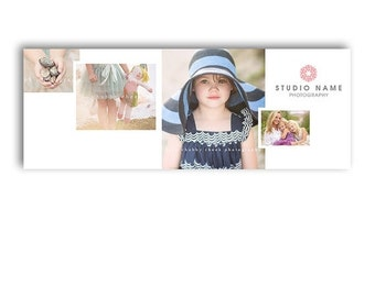 SALE HALF OFF Photography Marketing Facebook Cover Template - Lovely - 1294
