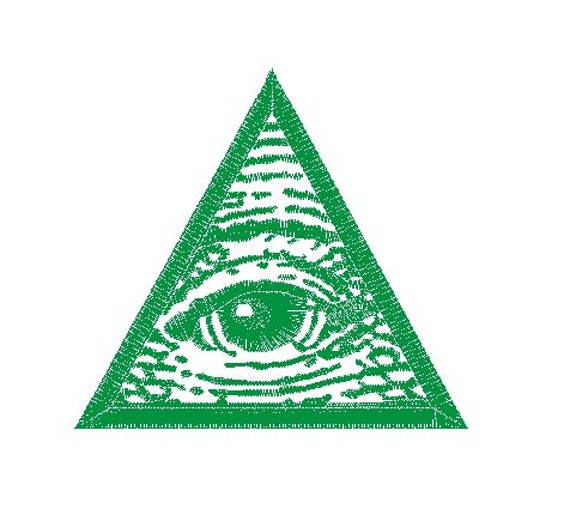 illuminati embroidery design from idigitize on etsy studio