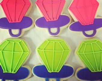Ring pop cookies