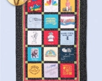 T-Shirt Quilt: Eleanor Burns Signature - Pattern only