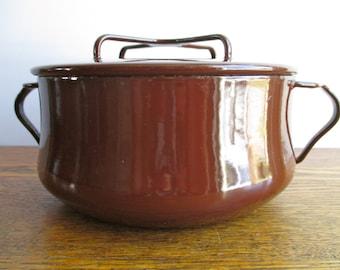 Vintage Dansk Brown Kobenstyle Pot
