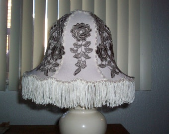 Applique lampshade