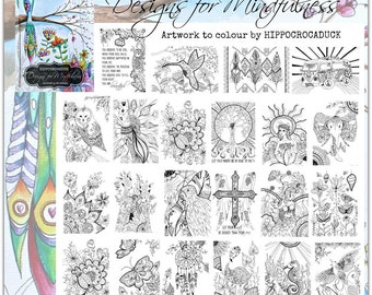Designs for Mindfulness...A colouring book for all