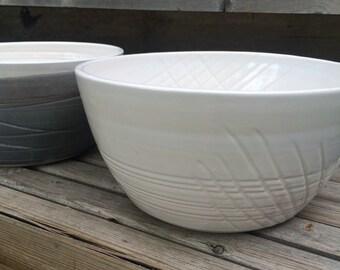 large serving bowl/mixing bowl - made to order