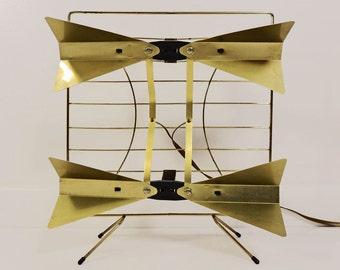 Vintage Modernist Retro Atomic Brass Radio TV Antenna
