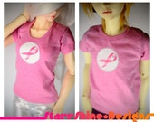 BJD Clothing - CHARITY - Breast Cancer Awareness T-Shirt - 3 Sizes