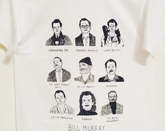 Small Bill Murray T-shirt