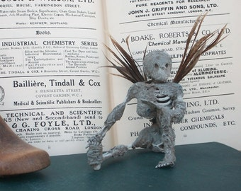 Undead Fairy Oddity Mummified Sprite Wicked Spell Caster Feather Wings Woodland creature