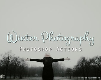 20 Premium Winter Photoshop Actions