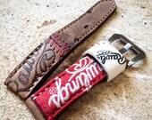 Baseball Glove Strap Any size Customizable N80 Leather Zulu