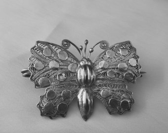 Butterfly filigree Pin