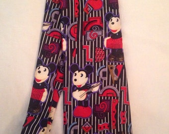 Vintage  Abstract Mickey Mouse Tie made by Atlas Design