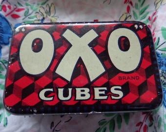 Vintage OXO tin
